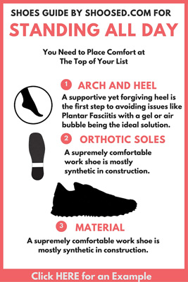 standing all day shoes guide