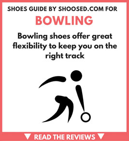 top footwear for bowling