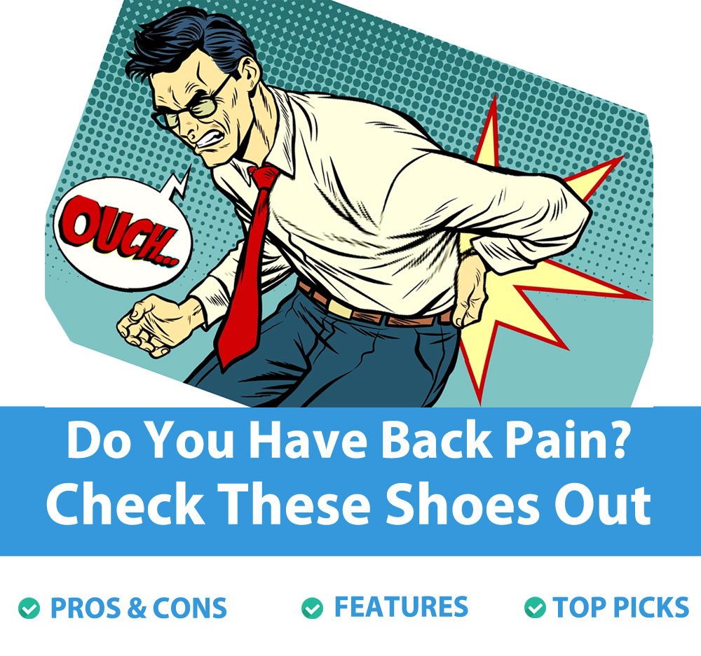 a man struggling from pain because of sciatica and looking for new footwear